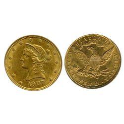 U.S. $10.00 gold