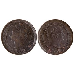 1 CENT 1858-9
