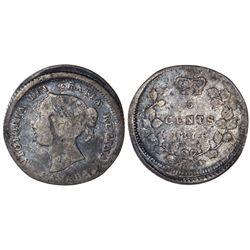 5 CENTS 1874-H