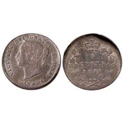 5 CENTS 1880-H