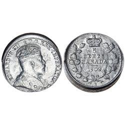 5 CENTS 1902-H