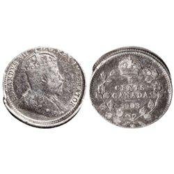 5 CENTS 1903-H