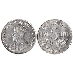 5 CENT 1927