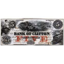 THE BANK OF CLIFTON.