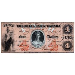 THE COLONIAL BANK OF CANADA.