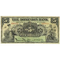 THE DOMINION BANK.