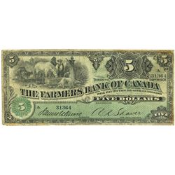 FARMER'S BANK OF CANADA