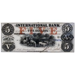 THE INTERNATIONAL BANK OF CANADA.