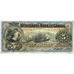 THE MERCHANT'S BANK OF CANADA.