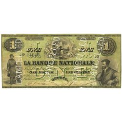 LA BANQUE NATIONALE.