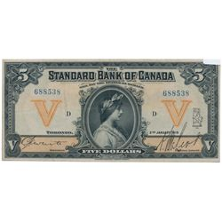 THE STANDARD BANK OF CANADA