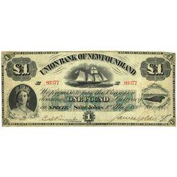 UNION BANK OF NEWFOUNDLAND.