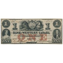 THE BANK OF WESTERN CANADA.