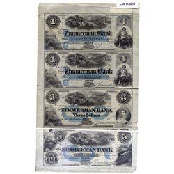 THE ZIMMERMAN BANK.