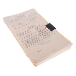 Apocalypse Now - Collection of 86 Original Production Used Call Sheets