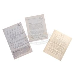 Apocalypse Now - Original Production Travel Requirements Paperwork