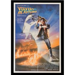 Back To The Future - Original Release Spanish One-Sheet