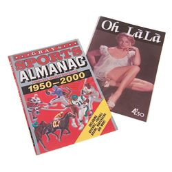 Back To The Future 2 - Oh LaLa Magazine & Sports Almanac Cover