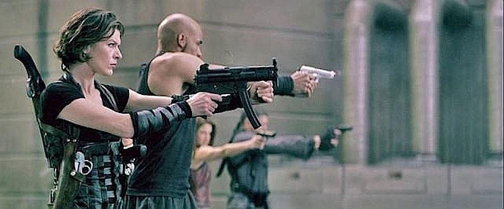 Resident Evil Afterlife Alice S Stunt Gun Milla Jovovich