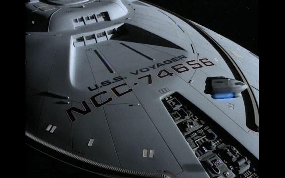 Star Trek Voyager Tv U S S Voyager Dedication Plaque