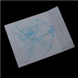 Alien 3 - Original Hand Drawn Storyboard