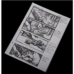Alien 3 - Original Production Used Storyboards