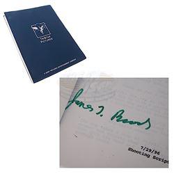 As Good As It Gets - James L. Brooks Autographed Script