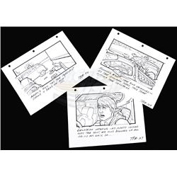 Back To The Future - Set of Twin/Lone Pine Mall Storyboards