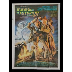 Back To The Future 3 - Original Argentinean Release Poster
