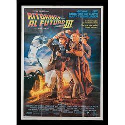 Back To The Future 3 - Original Italian Release Poster
