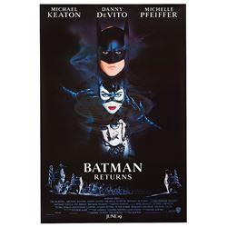 Batman Returns - Original Advance One-Sheet Poster