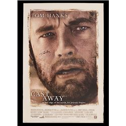Cast Away - Original Tom Hanks Autographed One-sheet Poster