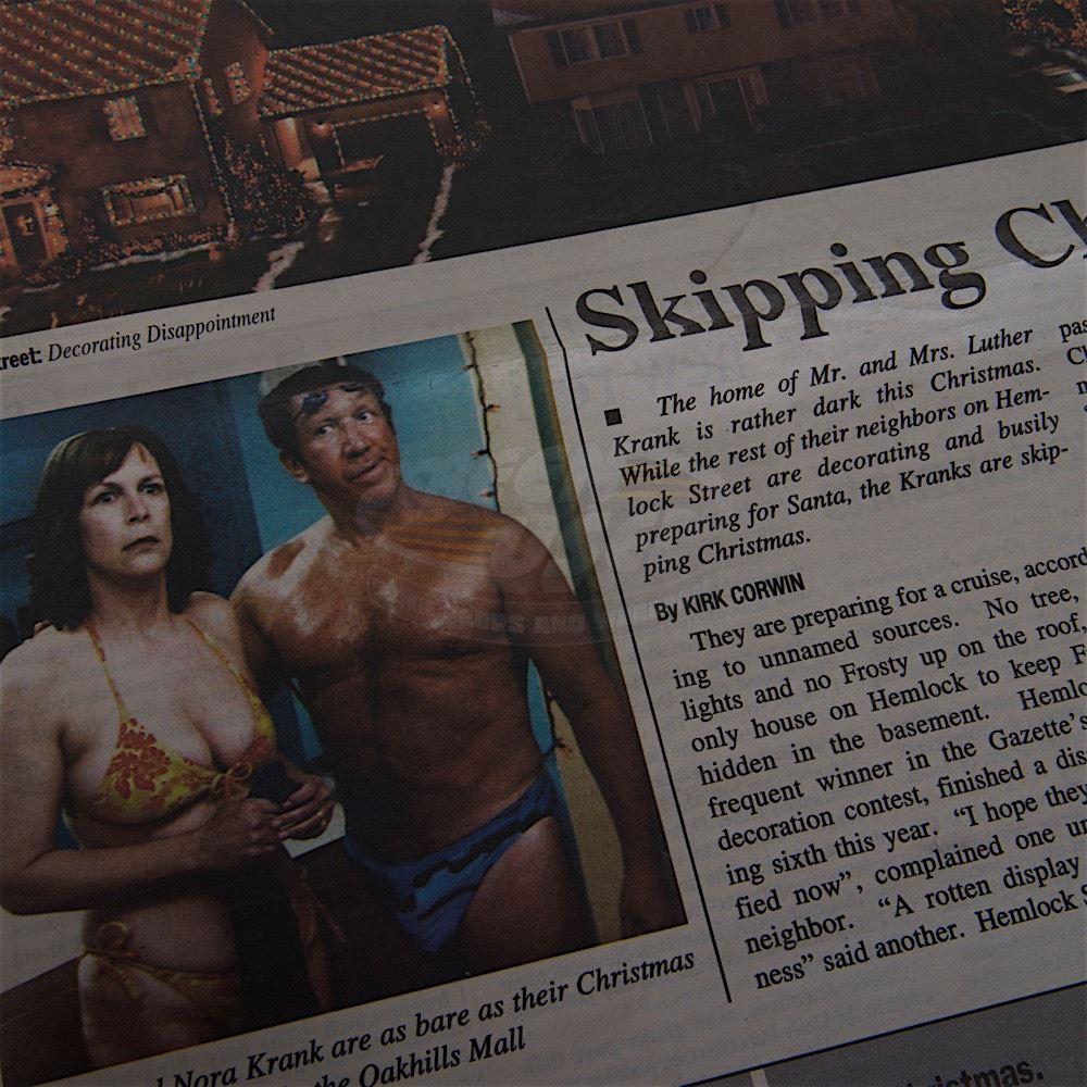 Christmas With The Kranks.Christmas With The Kranks Wednesday Journal Newspaper Tim