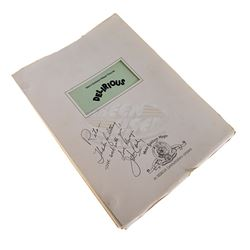 Delirious - John Candy Autographed Production Script