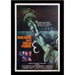 Escape From New York - Original Advance One-Sheet Poster