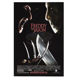 Freddy Vs. Jason - Original Advance One-Sheet Poster