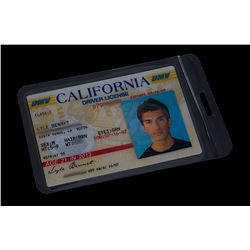"Heroes (TV) - Alex Woolsey's ""Fake"" Drivers License (Justin Baldoni)"