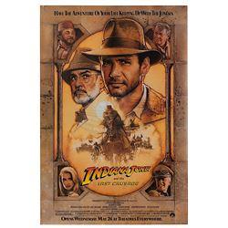 Indiana Jones and the Last Crusade - Original Advance One-sheet Poster