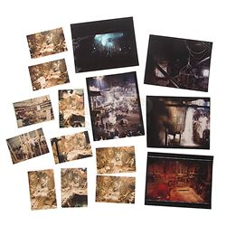 Indiana Jones and the Temple of Doom - Collection of Live Action & Miniature Set Photographs