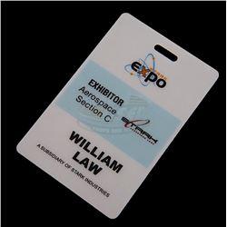 Iron Man 2 - Stark Expo Exhibitor Badge