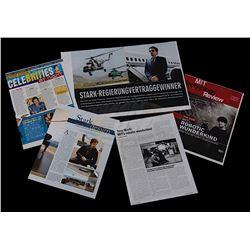 Iron Man 2 - Tony Stark News & Magazine Clippings