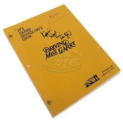 It's Garry Shandling's Show. (TV) - Dan Aykroyd Autographed Script