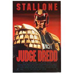 Judge Dredd - Original One-Sheet Poster