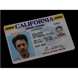 Monk (TV) - Derek's Drivers License (Andrew McCarthy)