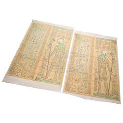 Mummy, The - Large Miniature Egyptian Motif Canvas Wall Panels