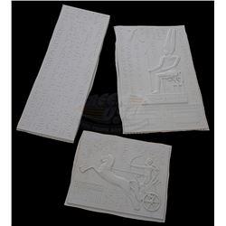 Mummy, The - Large Miniature Egyptian Motif Vacuform Wall Panels