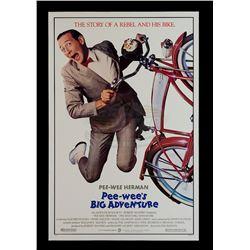 Pee-wee's Big Adventure - Original Release One-Sheet Poster