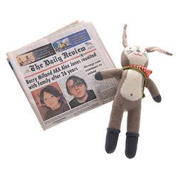 Prisoners - Prop Newspaper & Stuffed Toy