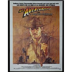 Raiders of the Lost Ark - Original French Release Poster