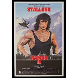 Rambo III - Original One-Sheet Poster